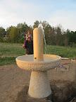 ...a fontána je pokřtěna.