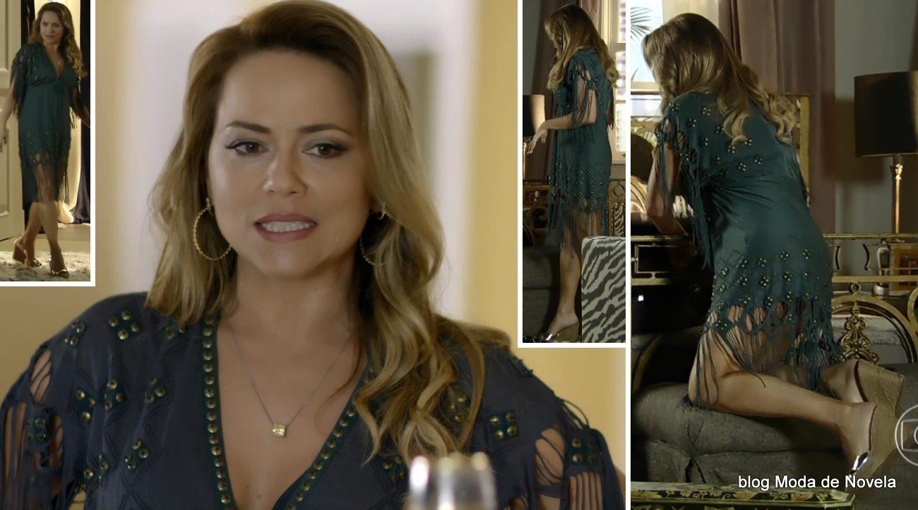 moda da novela Em Família - look da Shirley dia 10 de maio