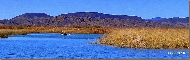 Fisherman at Mittry Lake