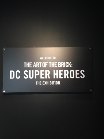 The Art of the Brick - DC Superheroes
