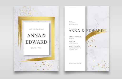 Membuat Undangan Pernikahan Glowing Gold | Kaina Studios