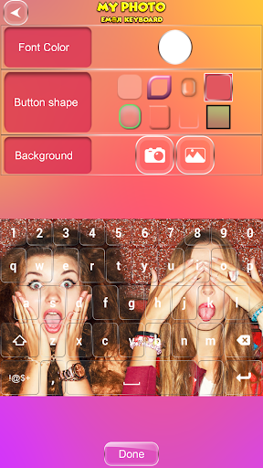 My Photo Emoji Keyboard screenshots 2