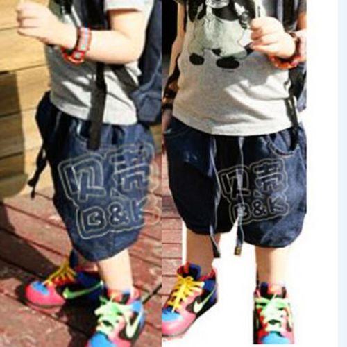Cool-Children-Baby-Boys-039-Clothing-Kids-Carpi-Cropped-Pants-Short-Trousers-Pocket