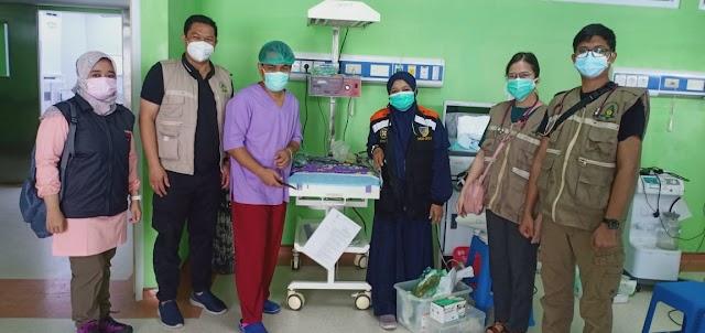Hari Pertama Bertugas, Tim Medis Muhammadiyah Selenggarakan Dua Operasi di RSUD Sulbar