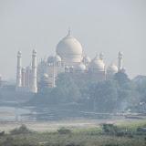 Taj Mahal, viewed from Agra Fort, Agra