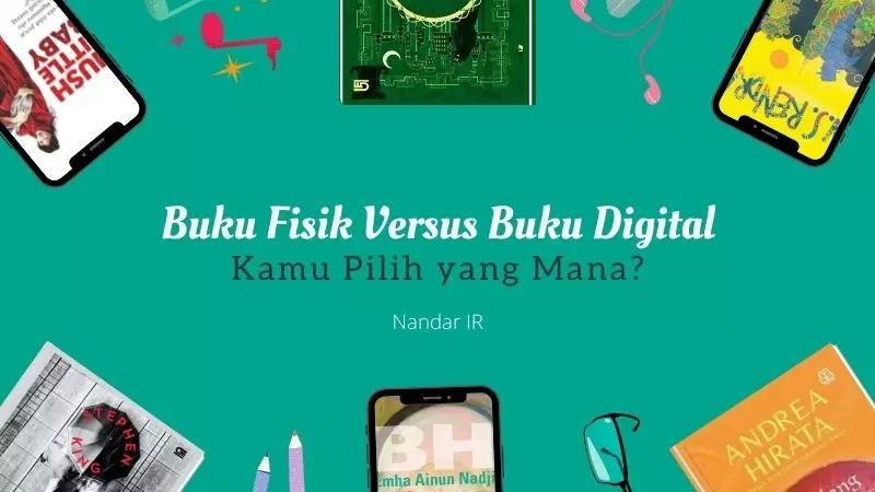 buku fisik versus buku digital