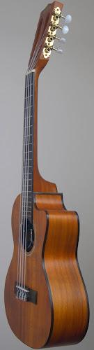 Kala cutaway tenor 8 string ukulele