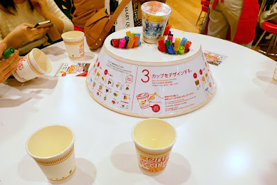 Momofuku Ando Instant Ramen Museum - Here at the My Cupnoodles Factory, you can create your own completely original CUPNOODLES package. A lid is put on top of your container so it stays uncontaminated until the ingredients are added while you decorate your cup