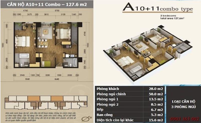 Chung cư starcity lê văn lương thiết kế căn A10