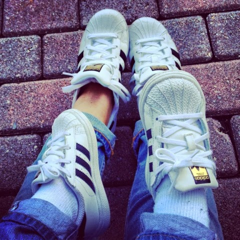 adckb BombelStyleBlog: Matching Adidas Originals Superstar Sneakers and
