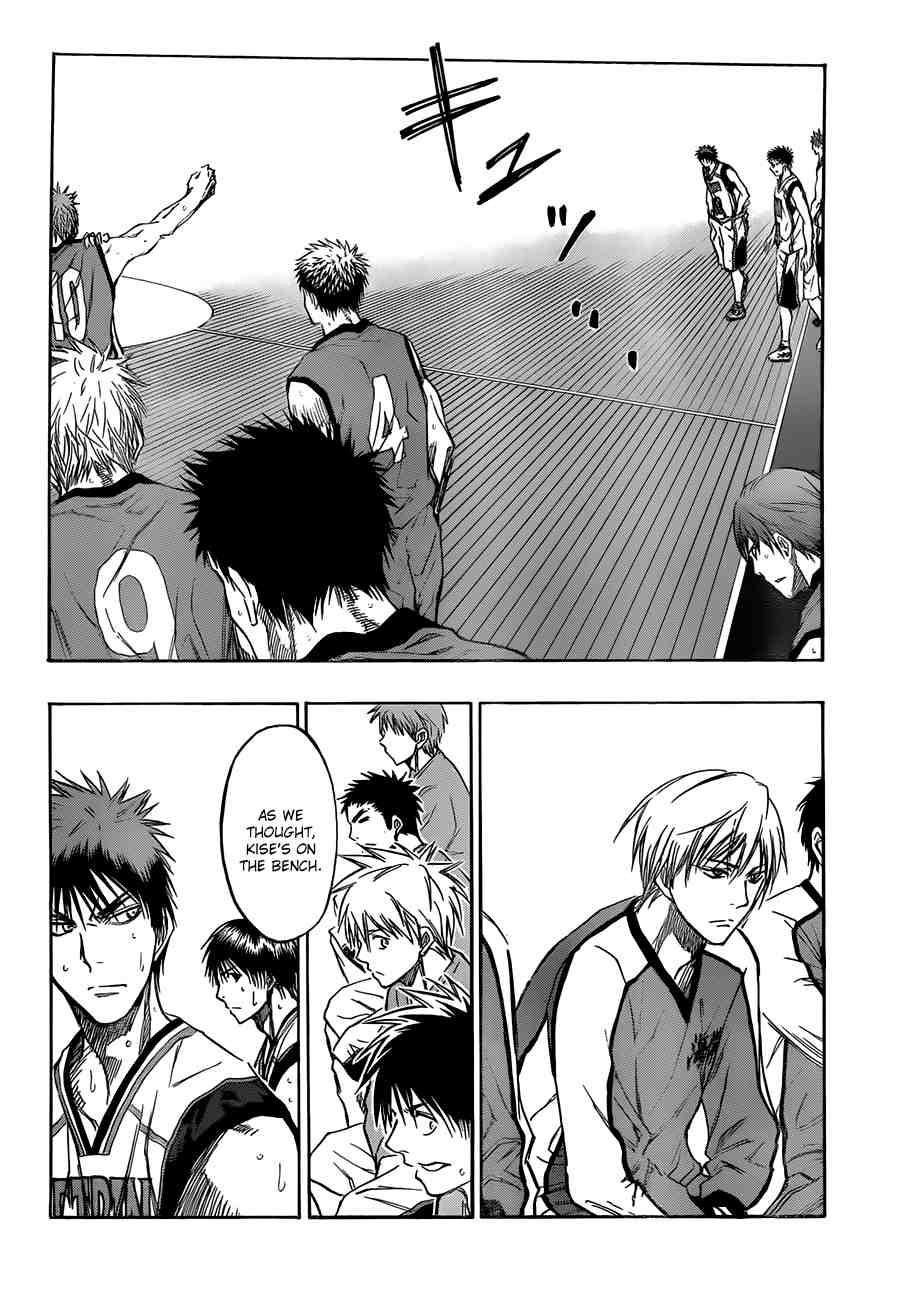 Kuroko no Basket Manga Chapter 192 - Image 14