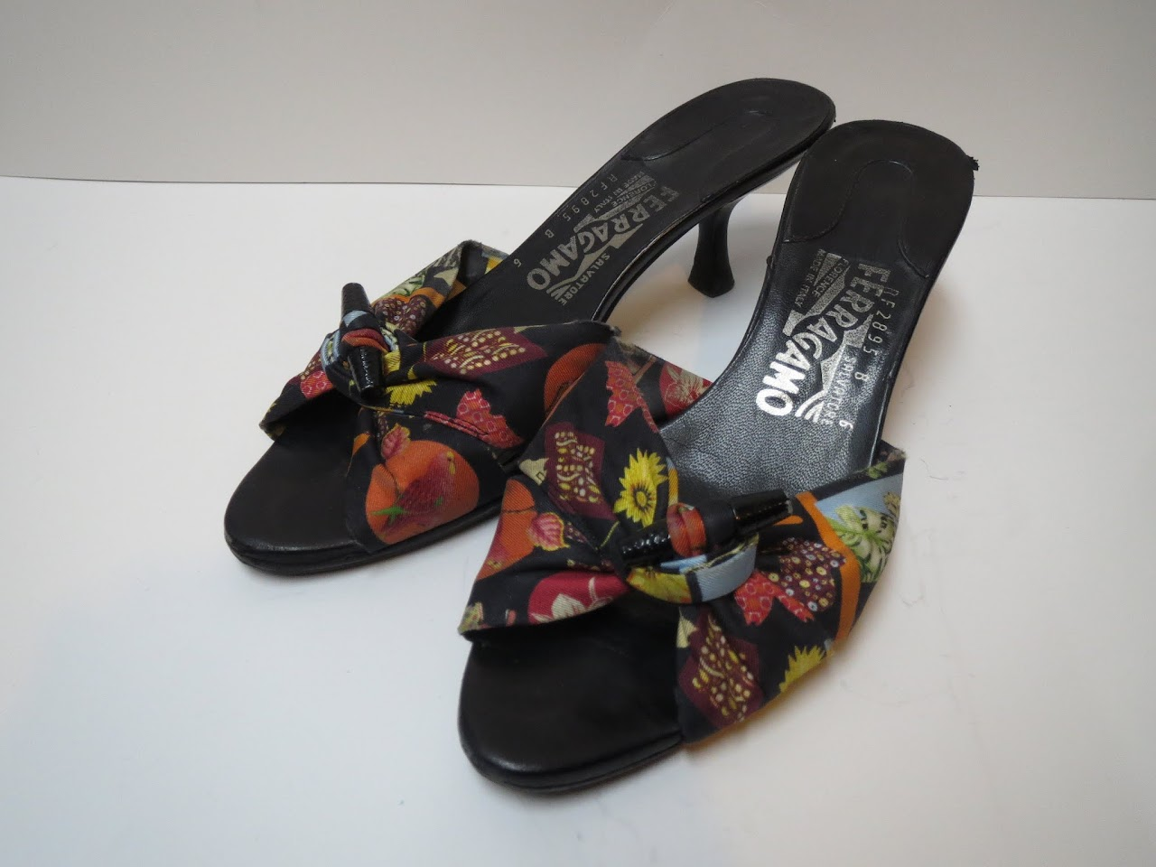 Salvatore Ferragamo Textile Sandals