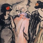 L'escala de l'òpera - K. van Dongen