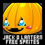 jack lantern pumpkin halloween free sprite