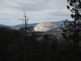 Back side of Half Dome.
