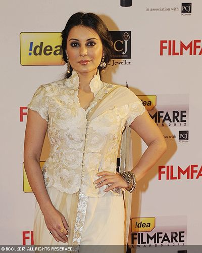 Minissha Lamba looked graceful in an off white outfit during the 58th Idea Filmfare Awards 2013, held at Yash Raj Films Studios in Mumbai.Click here for:<br />  58th Idea Filmfare Awards