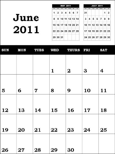 june calendar 2011. june 2011 calendar images.
