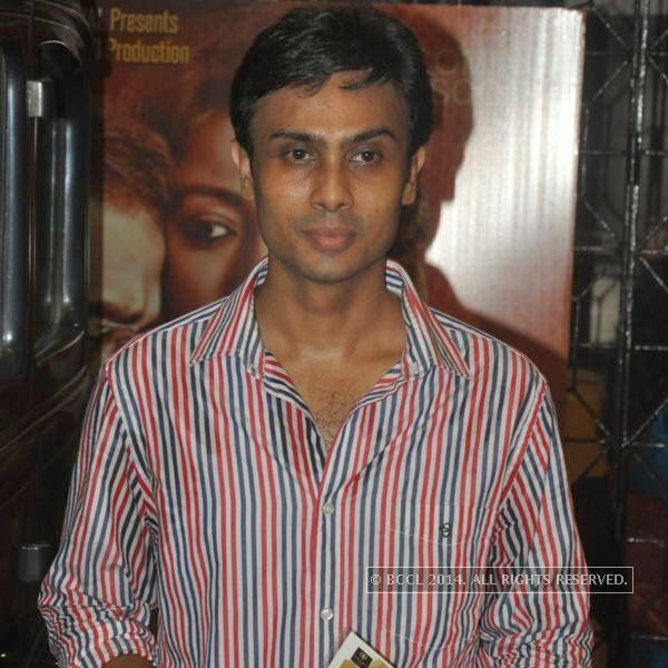 Ranjan Ghosh during the premiere of his movie Hrid Majhare at Priya in Kolkata.