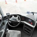 Het dashboard van de M.A.N van Arriva Touring bus 471