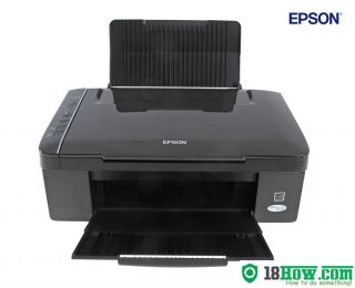 How to Reset Epson SX117 flashing lights error