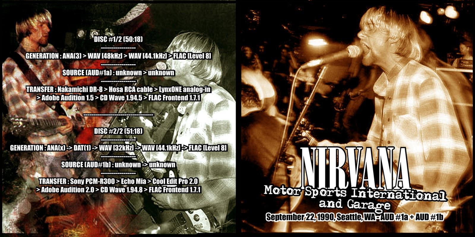 Nirvana in memory of kurt 22 09 90 motor sports - Nirvana dive lyrics ...