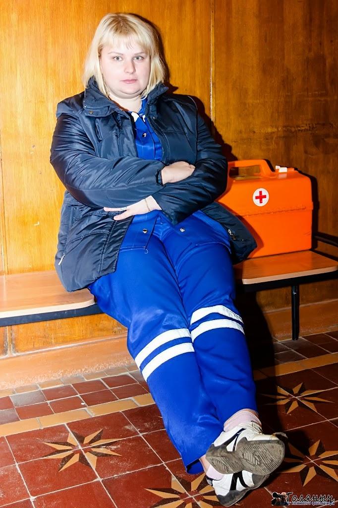 """Дежурный врач кареты """"Скорой помощи"""" - хорошо, что его услуги не понадобились"""