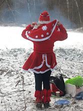 Photo: Снегурочка!