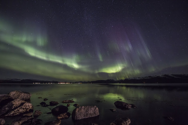 Incredible auroras from Stamnes, Sortland, Norway, Oct 2015. Photographer Benny Høynes