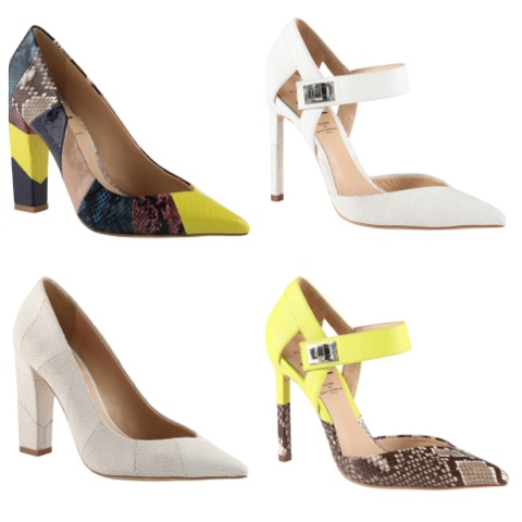 Edge up your favorite spring looks with Preen 'N' Aldo collab heels