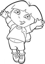 >Colección de 20 dibujos de Dora la Exploradora para ...