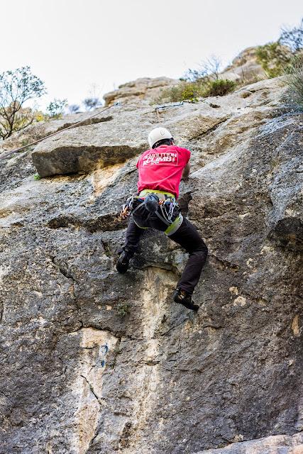 Escalada en Quirós