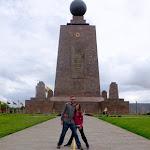 Its not Ecuador without an Equator pic!