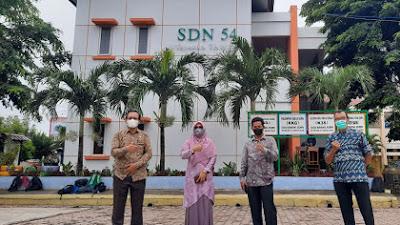 Tim MPD Monitoring PPDB di SDN 54 Kota Banda Aceh