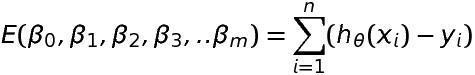Multivariate Regression Formula