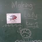 Making Lady Bugs (Jr. KG) 06.10.2015