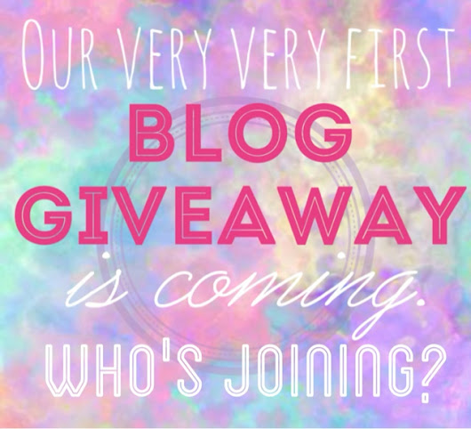 Introduction to our blog giveaway ��
