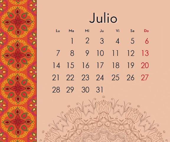 Calendario 2014 de los Mandalas