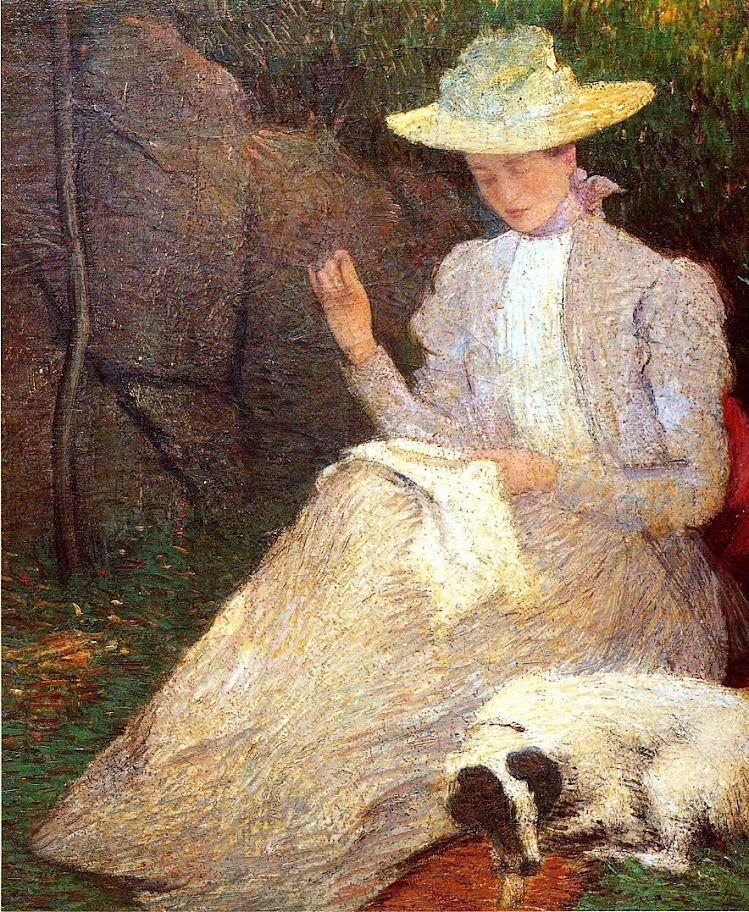 Julian Alden Weir - Summer, Friends