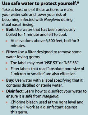 Safe Water for Negleria