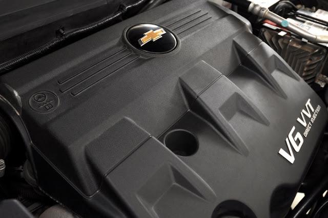 Nova Chevrolet Captiva 2011 - motor V6 3.0L com injeção direta