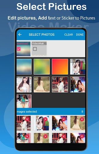 Video Editor: Video Maker With Music, Photo, Text 1.0.3 screenshots 2