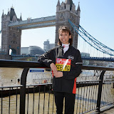 OIC - ENTSIMAGES.COM - Emma Stepto at the Virgin London Marathon Photo Call for  British Contenders in London 23rd April 2015 Photo Mobis Photos/OIC 0203 174 1069