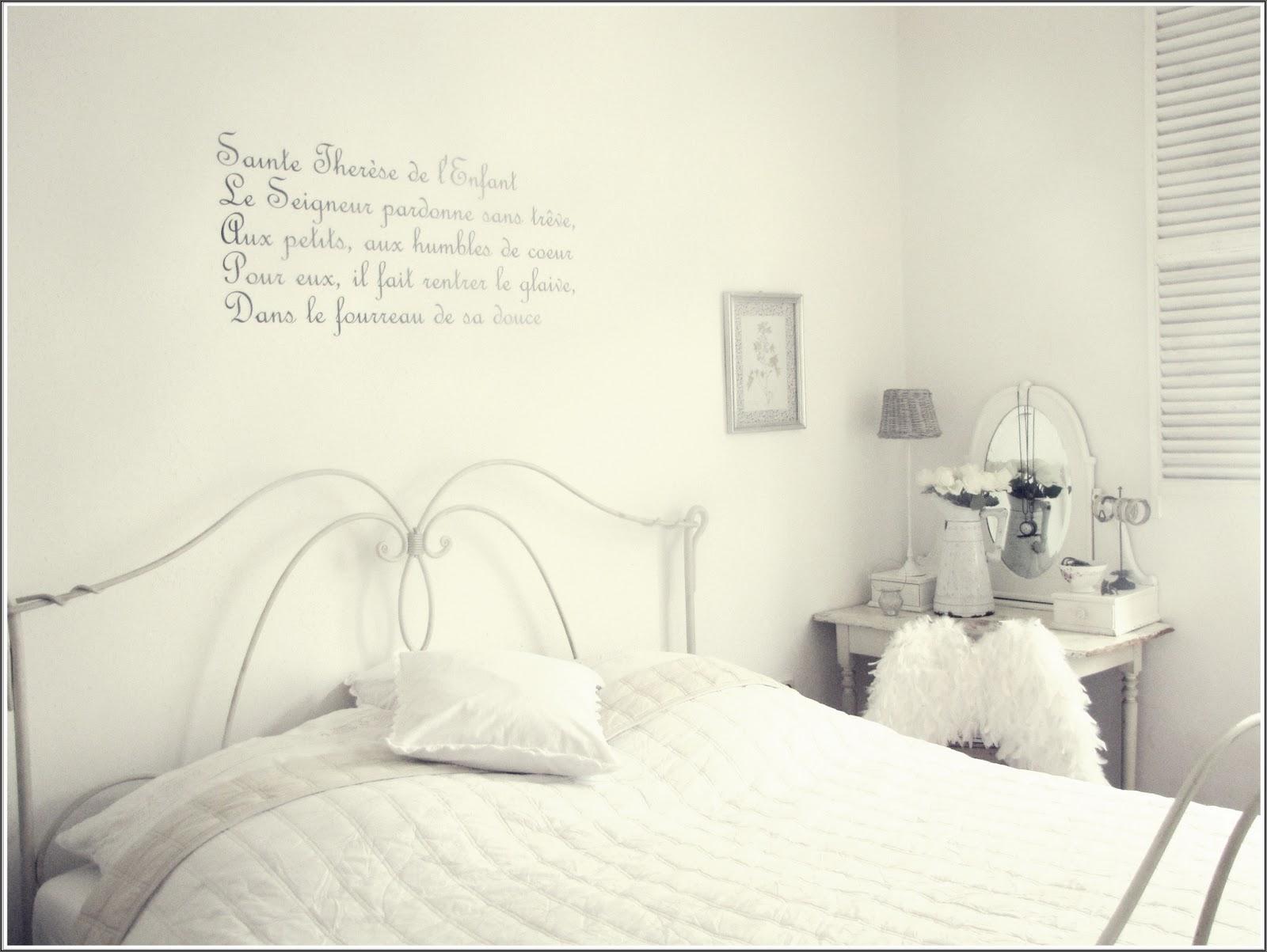 White vintage home schlafzimmer die zweite - Schlafzimmer vintage ...