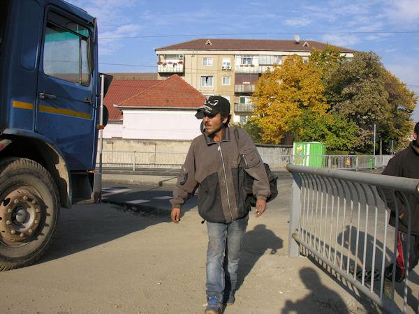 Ţigani culegători de fier vechi în Oradea #2