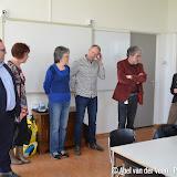 Burgemeester en wethouder bij taalles in Over de Brug - Foto's Abel van der Veen