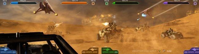 Es gibt ein neues Halo Spiel, aber sie können es nur in Spielhallen spielen