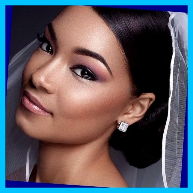 LATEST AFRICAN WEDDING MAKEUP STYLES IN 2018 1