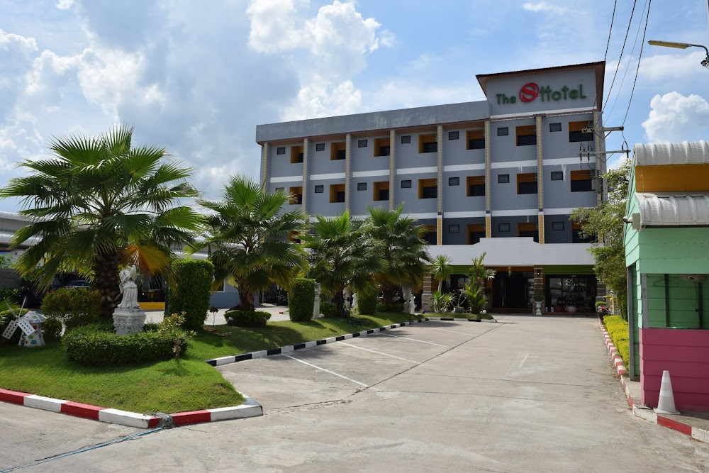 Our wonderful hotel in Buriram, the 'S' Hotel... if you ever visit this lovely Issan city, I strongly recommend it.