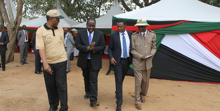 Rapid Response Initiative by Fred Matiang launched.