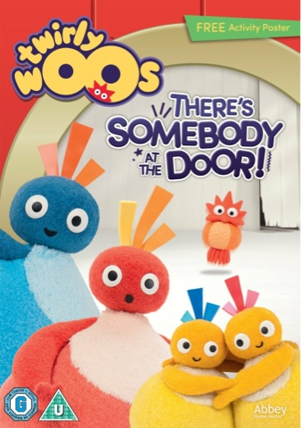 Twirlywoos - There's Somebody At The Door DVD